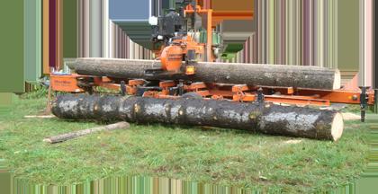 Woodmizer im Einsatz