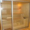 Eigenbau Sauna fertig verglast