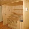 Eigenbau Sauna offen